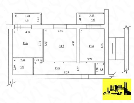 Продажа квартиры, Самара, м. Московская, Самара, Продажа квартир в Самаре, ID объекта - 333254492 - Фото 1