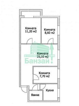 Аренда квартиры, Тюмень, Ул. Холодильная - Фото 1