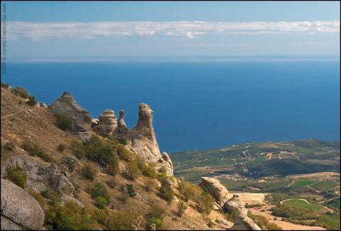 Земельный участок в горно-зеленной зоне ар Крым - Фото 2