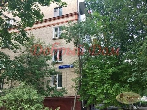 Квартира Москворечье улица, дом 41к1, двухкомнатная продажа - Фото 1