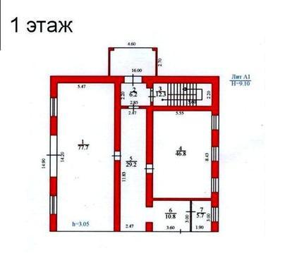 Нежилое здание 481 м2 в Рудничном районе - Фото 1
