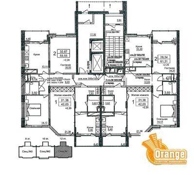 Продаются квартиры в п. Биокомбинат, Жилой дом №1 - Фото 2