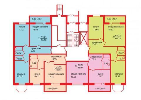 Продажа квартиры, Барнаул, Южный Власихинский - Фото 2