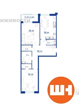 Продается 2-к Квартира ул. Спортивная - Фото 1
