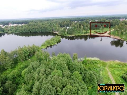 Участок на берегу Ждановского озера - Фото 1