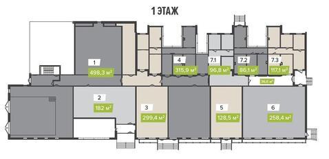 Аренда офиса 498.3 кв.м. Метро Митино