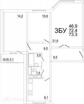 Продажа квартиры, Звенигород, 3-й - Фото 2