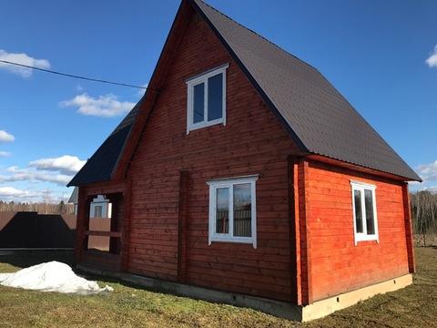Новый дом из бруса, 120 кв.м, д. Слепушкино Чеховский район - Фото 2
