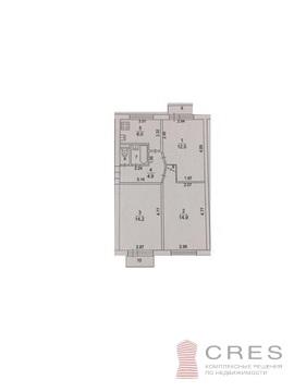 Трехкомнатная квартира в Щелково, пос. Загорянский - Фото 1