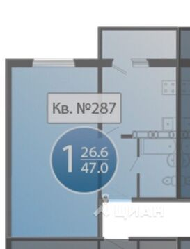 Продажа квартиры, Засечное, Пензенский район, Улица Олимпийская - Фото 1