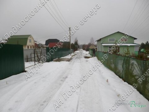 Волоколамское ш. 25 км от МКАД, Турово, Участок 6 сот. - Фото 1