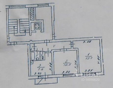 Продажа квартиры, Россошь, Репьевский район, Улица Простеева - Фото 1