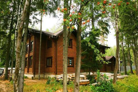 Загородный дом из бревна в лесу, Киевское ш, 28 км от МКАД - Фото 2