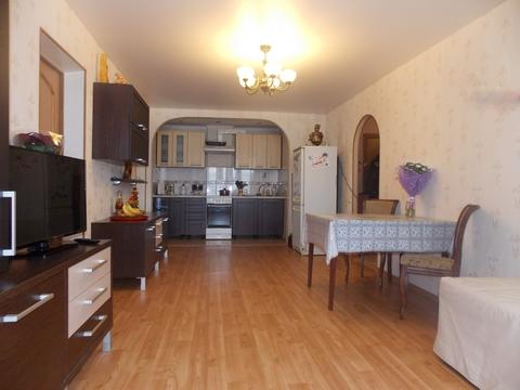 Четырехкомнатная квартира с ремонтом и мебелью - Фото 1