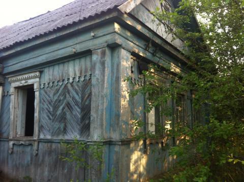 Старый бревенчатый дом на 18 сотках, Рузский район, 80 км. от МКАД - Фото 1