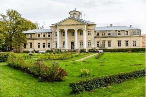 Уникальное графское имение и участок земли 53 га под Сигулдой - Фото 1