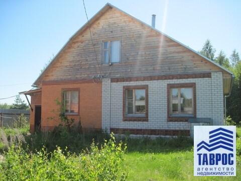 Добротный дом с удобствами в д.Барское в 170 км от МКАД - Фото 1