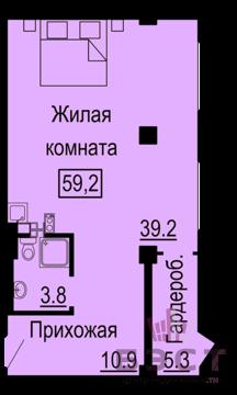 Квартира, ЖК Октава, г. Екатеринбург - Фото 1