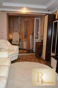 Двухкомнатная квартира с качественным ремонтом в гор. Балабаново - Фото 1