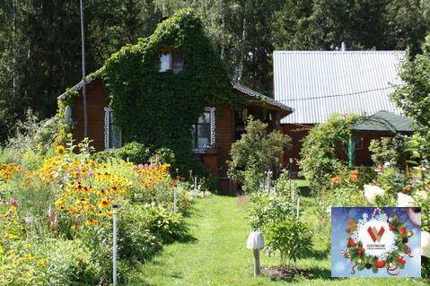 Дом с баней, выход в лес. 70 км от МКАД д.Дубки - Фото 3