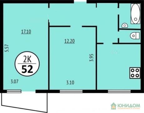 2 комнатная квартира ул. Интернациональная, Московский тракт - Фото 3
