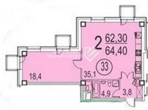 Продажа апартаменты ул. Хромова, дом 3 - Фото 2