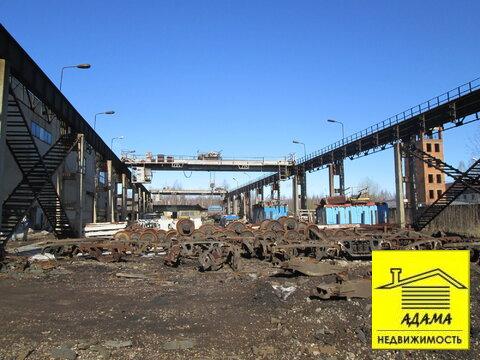 Площадка с твердым покрытием мостовыми кранами 5-10т тупик, весовая - Фото 3