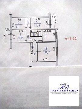 Продам 4к.кв. пр-кт Шахтеров, 24 - Фото 1