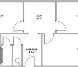 Продажа квартиры, Воркута, Ул. Некрасова - Фото 1