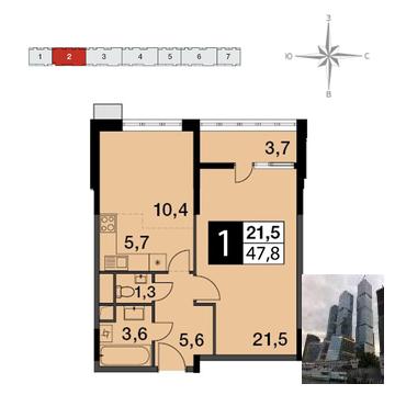 Продажа квартиры, Балашиха, Балашиха г. о, Ул. Ситникова - Фото 1