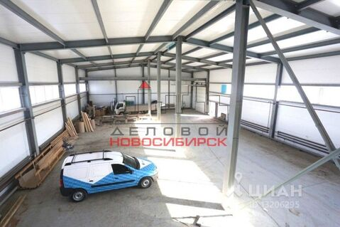 Продажа склада, Озерный, Новосибирский район, Улица Карьермочищенская - Фото 1