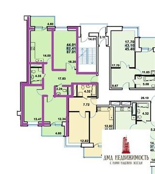 3-комнатная г. Реутов, ЖК Рациональ (ном. объекта: 6802) - Фото 3