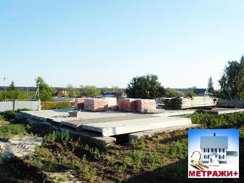 Участок с газом и фундаментом под дом в с. Обуховское - Фото 1