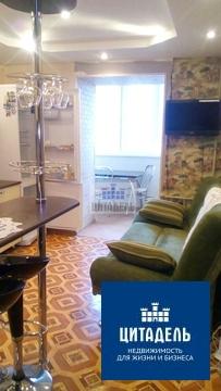 Современная однокомнатная квартира в кирпиче, Купить квартиру в Воронеже по недорогой цене, ID объекта - 322786431 - Фото 1