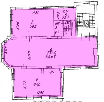 Аренда офиса 347.8 кв.м. Метро Новослободская
