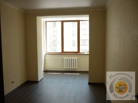 Квартира без мебели, встроенная кухня, холодильник - Фото 4