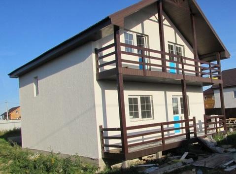 Продается новый блочный дом 174м2 участок 8,5 соток, д.Малышево - Фото 2