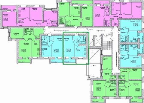 Продается 1-комнатная квартира в Брагино(новостройка-дом сдан) - Фото 2