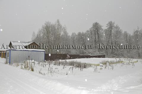 Нара. прилесной земельный участок 12 соток с фундаментом и гаражом. - Фото 2