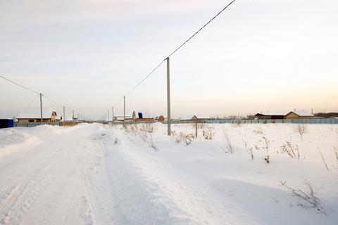 Участок 12сот, п.Богандинский, ул.Чернышевского, Тюменский район - Фото 4