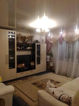 Борский район, Бор г, Луначарского ул, д.12а, 3-комнатная квартира . - Фото 1