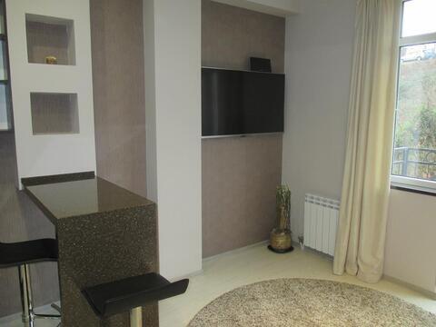 Квартира студия с ремонтом и мебелью в городе Сочи мик-он Новый Сочи - Фото 2