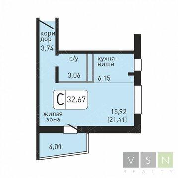 Продается квартира г.Ивантеевка, Хлебозаводская, Купить квартиру в Ивантеевке по недорогой цене, ID объекта - 320733908 - Фото 1