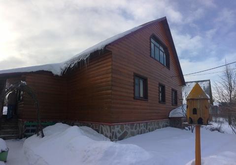 Брусовой дом д. Курбатово - Фото 1