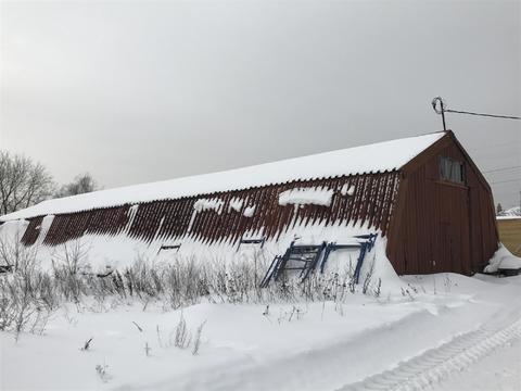 Нежилое помещение – ангар 300 кв. м. М.О, Раменский район, д. Кузяево - Фото 1