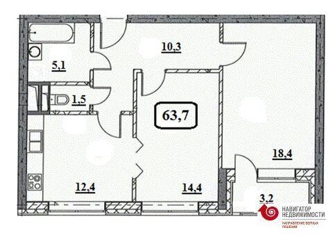 Продажа квартиры, м. Шоссе Энтузиастов, Пр-кт Будённого - Фото 1