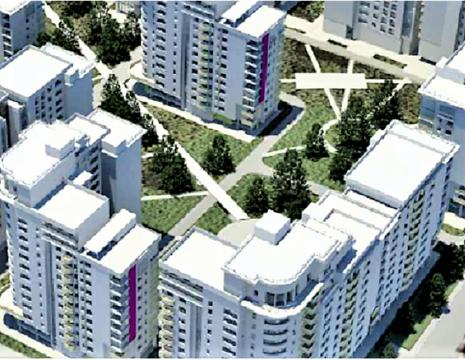 Участок с полученным разрешением на строительство район Сельмаш
