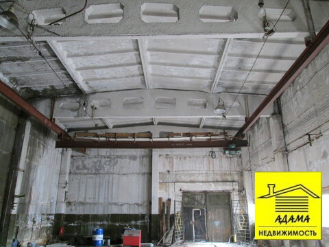 Здание с кранбалкой 3т отдельный въезд эл-во, газ - Фото 4