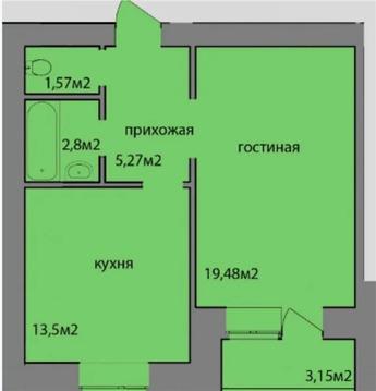 Аренда 1 комнатная квартира по ул.Гнаровской,12 - Фото 2