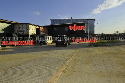 Совхоз Боровский. Складской комплекс 66 соток с двумя ангарами, офисом - Фото 2